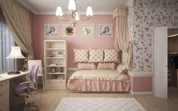 Детская прованская спальня