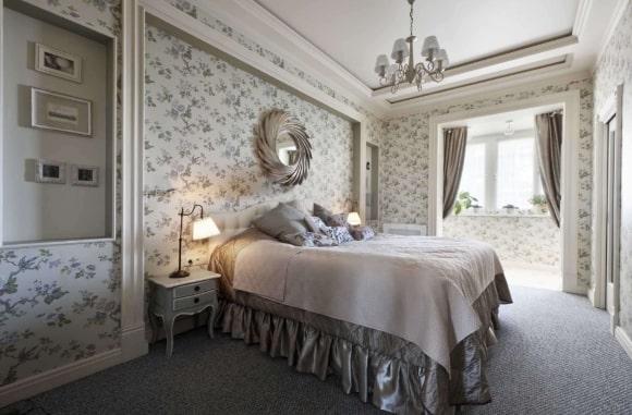 Дизайн французской прованской спальни