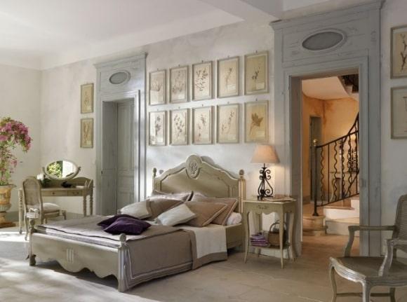 Французская прованская спальня