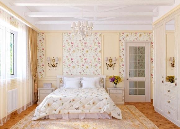 Прованская спальня 14 кв.м.