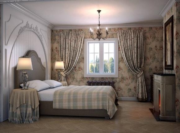 Прованская спальня 15 кв.м.