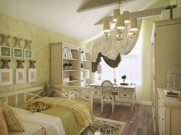 Прованская спальня для девочки