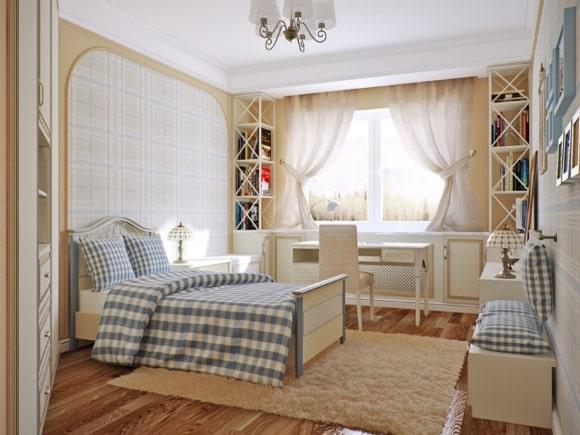 Прованская спальня для мальчика