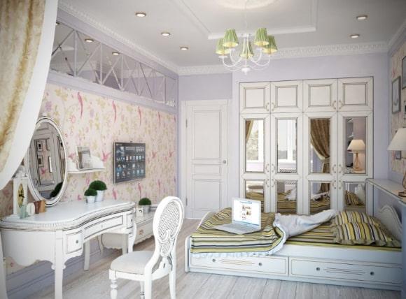 Шикарная прованская спальня