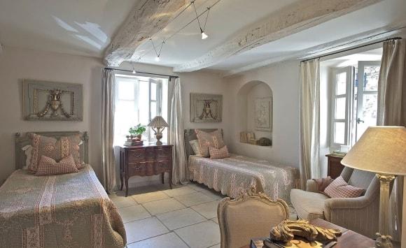 Спальня в стиле прованс 15 кв.м.