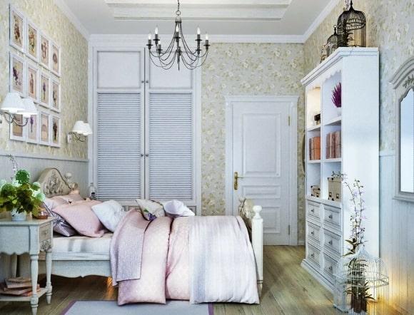 Спальня в стиле прованс для девочки-подростка