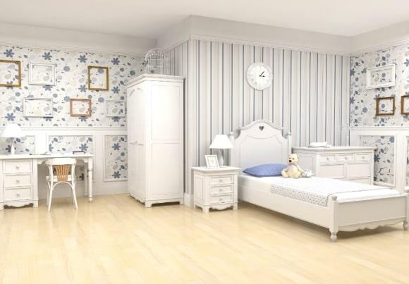 Спальня в стиле прованс для девочки