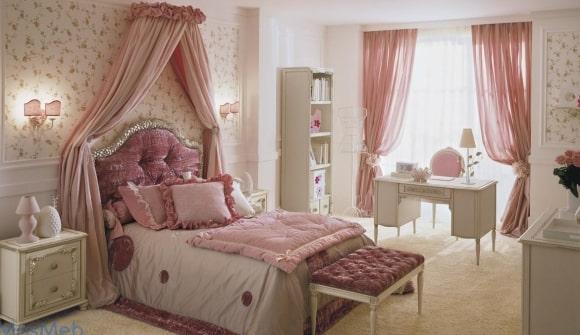 Спальня в стиле прованс для девушки