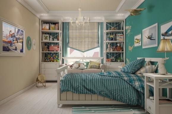 Спальня в стиле прованс для мальчика