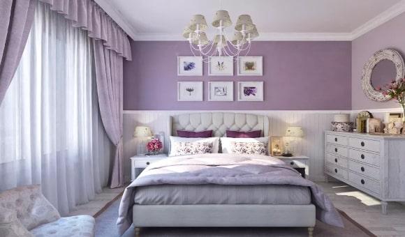 Женская спальня в стиле прованс