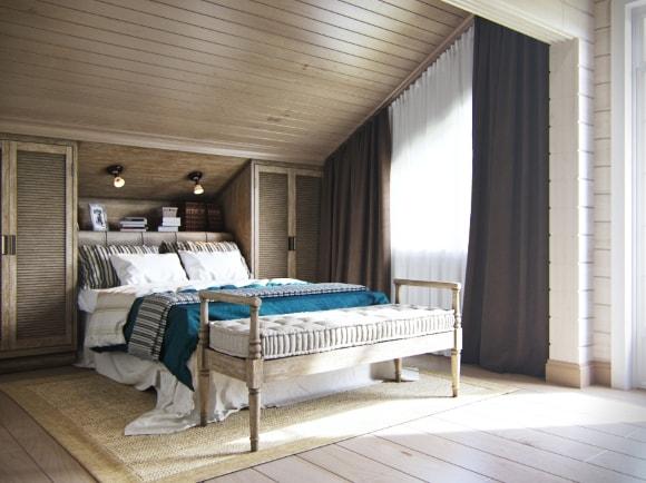 Прованская спальня на даче