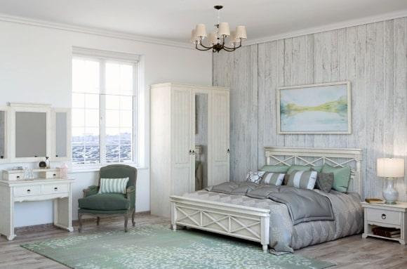 Спальня в стиле прованс, созданная своими руками